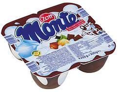 Десерт крем натуральный молочно  ванильный микс- стаканчики  Monte 220g.Германия.