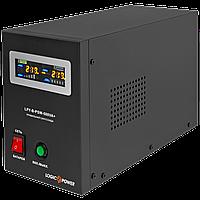ИБП с правильной синусоидой LogicPower LPY-B-PSW-500VA+(350W)5A/10A 12V для котлов и аварийного освещения