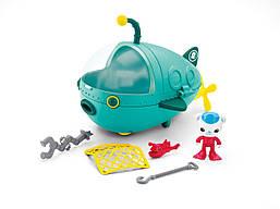 Октонавты подводная лодка Гуп-А и Барнаклс игра в воде и на суше Fisher-Price Octonauts Gup A and Barnacles
