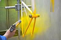 Порошковая покраска металла дисков фурнитуры дверей деталей трубы Харьков