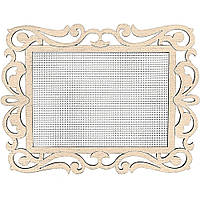 Заготівка для вишивання нитками FLH-006,19.5*15см