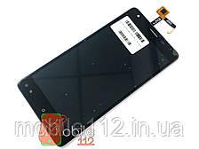 Модуль для Oukitel K6000 Pro (Дисплей + тачскрин) черный