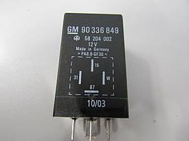 Реле подогрева свечей накала GM 90336849 OPEL 23TD Frontera-A 23DTR 23YD 23YDT Omega-A X17DTL Astra-F