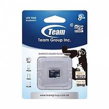 Карта памяти microSD   8GB /Team/ no adapter (TUSDH8GCL402) EAN/UPC: 765441001862