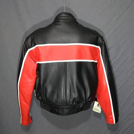 Мотокуртка MOTO LINE б/у кожа, фото 2