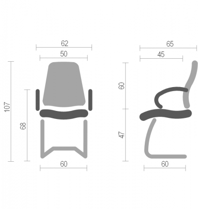 Кресло Орман (Orman) Nowy Styl EX CF, фото 2