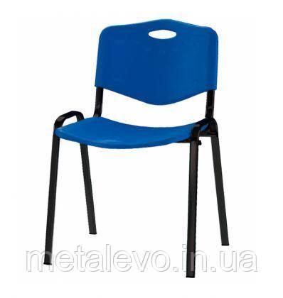 Офисный стул для посетителей с пластиковым сиденьем Исо plast (Iso plast) Nowy Styl BL, фото 2