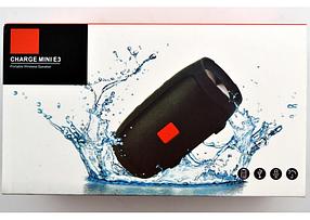 SALE! Портативная колонка JBL Charge Mini E3 ЧЕРНЫЙ !, фото 3