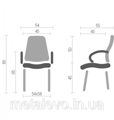 Кресло со столиком Самба С Т пласт (Samba S T plast) Nowy Styl CH, фото 2
