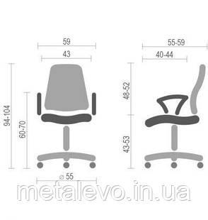 Детское кресло поворотное Фокс (Fox) Nowy Styl PL GTP FR, фото 2