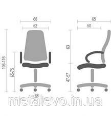 Офисное кресло для руководителя Бонн КД (Bonn KD black) Nowy Styl PL ANF, фото 3