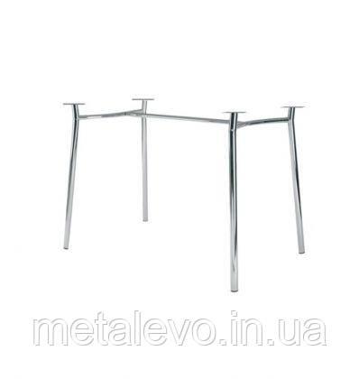 Металлическое хромированное основание для стола Тирамису Duo (Tiramisu Duo) Nowy Styl CH