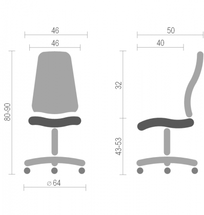Кресло Исо Net (Iso Net) Nowy Styl PL GTS PR, фото 2