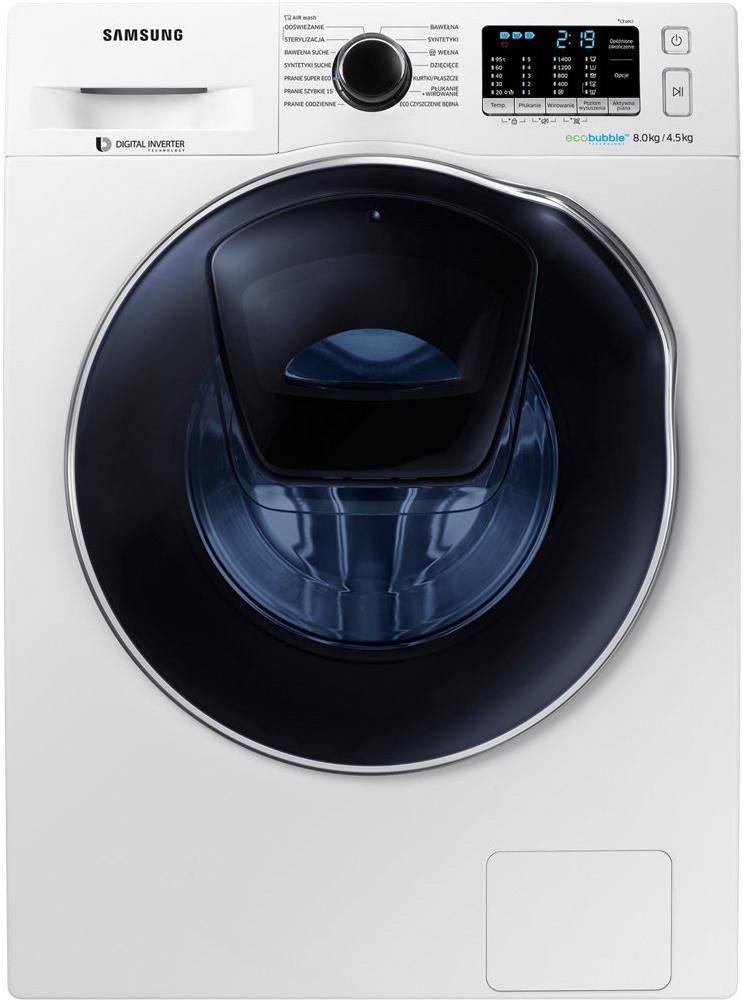 Стиральная машина с сушкой Samsung WD80K5A10OW
