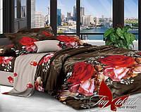 Комплект постельного белья полуторный XHY1987 ТМ TAG 1,5-спальный, постельное белье полуторка