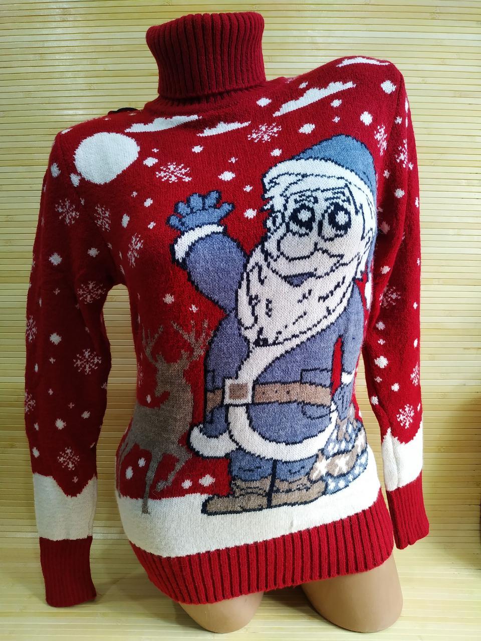 Червоний светр Санта Клаус