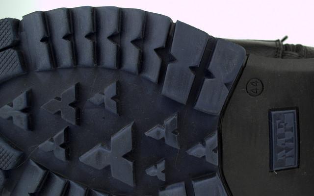 Зимние ботинки ручной работы мужская обувь из натуральной кожи Rosso Avangard Hand Made Ultimate Bluish