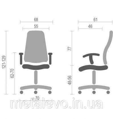 Кресло Хекстер PRO 02 (Hexter PRO 02) Nowy Styl AL RL, фото 2