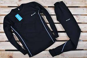 Мужское термобелье коламбия черное премиум комфорт комплект Thermal Underwear Columbia Black