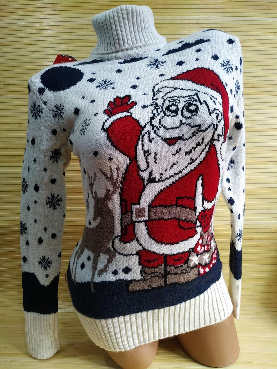 Светр новорічний Санта Клаус