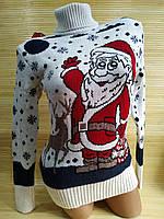 Светр новорічний Санта Клаус, фото 1