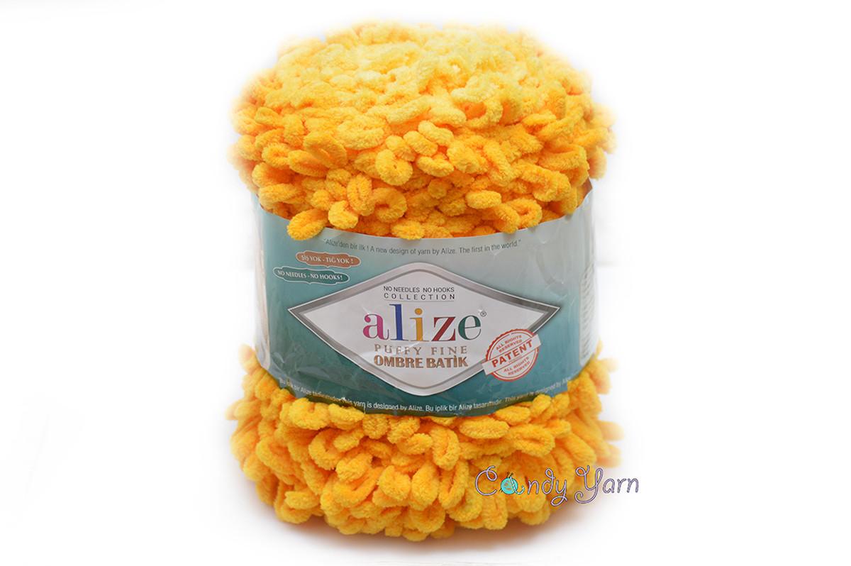 Alize_Puffy Fine Ombre Batik_ №7278
