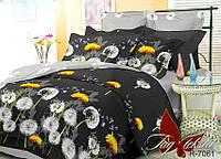 Комплект постельного белья полуторный с компаньоном R7061 ТМ TAG 1,5-спальный, постельное белье полуторка