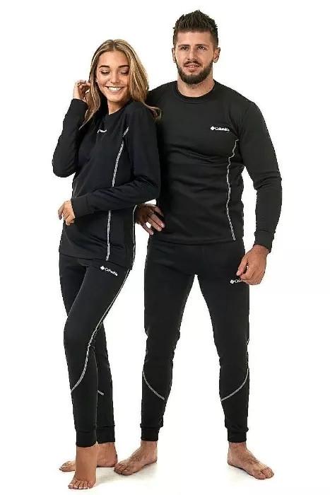 Женское термобелье коламбия черное премиум комфорт Термобілизна жіноча Thermal Underwear Columbia Black