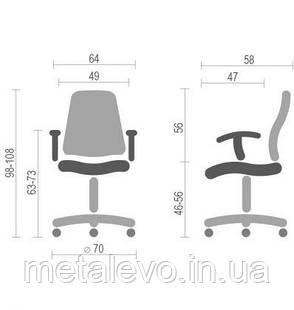 Кресло Эир NET (AIR NET white) Nowy Styl PL GTR SR(L), фото 2