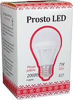Светодиодная лампа Prosto LED SK-7W-E27 G61 4100К  (Шар)