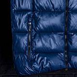 Чоловічий жилет синього кольору., фото 6