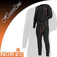 Термобелье Norfin Heat Line (XL, XXL, XXXL), черный