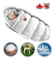 Дутый зимний конверт-трансформер для малыша INFLATED.
