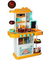 Детская кухня с посудой, световые, звуковые эффекты, льется вода из крана (Высота 72 см)