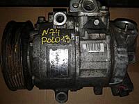 Б/у компрессор кондиционера для Skoda Fabia SEAT IBIZA VW polo 1.2 6q820803g