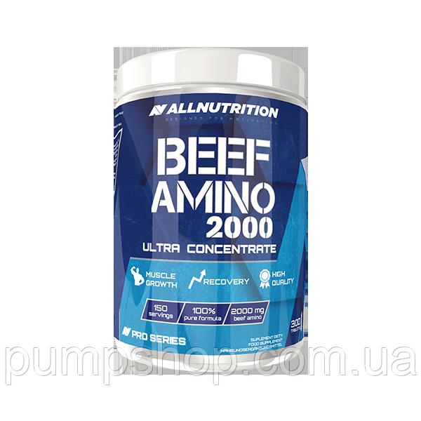Аминокислоты говяжьего белка AllNutrition Beef Amino 300 таб.