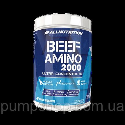 Аминокислоты говяжьего белка AllNutrition Beef Amino 300 таб., фото 2