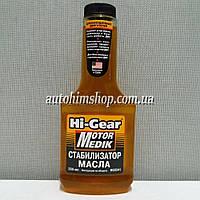 HI-GEAR Комплекс присадок Motor Medik в моторное масло для изношенного двигателя на 3,5л 355мл