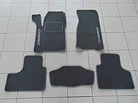 Коврики в салон ворс для Chevrolet Niva/ВАЗ 2123 серые, Beltex, комплект 5шт