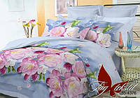 Комплект постельного белья полуторный  BR4376 ТМ TAG 1,5-спальный, постельное белье полуторка