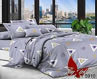 Комплект постельного белья полуторный XHY5910 ТМ TAG 1,5-спальный, постельное белье полуторка