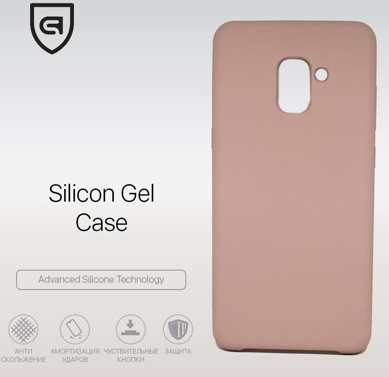 Панель Armorstandart Silicone Case для Samsung Galaxy A8 Plus (A730) Pink Sand (ARM51396)
