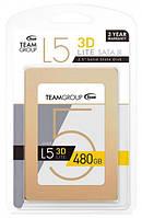 Жёсткий диск, SSD диск 480 Гб, TEAM GROUP, НОВЫЙ