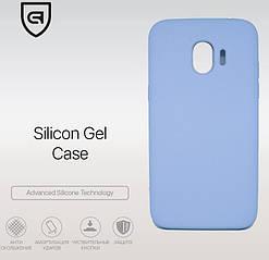 Панель Armorstandart Silicone Case для Samsung Galaxy J2 Pro (J250) Light Blue (ARM51385)