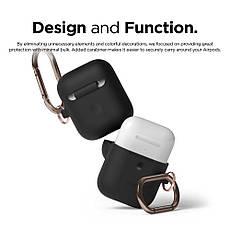 Чехол Elago A2 Hand silicone Airpods Wireless Charging Black (EAP2SC-HANG-BK) EAN/UPC: 8809461760315, фото 3
