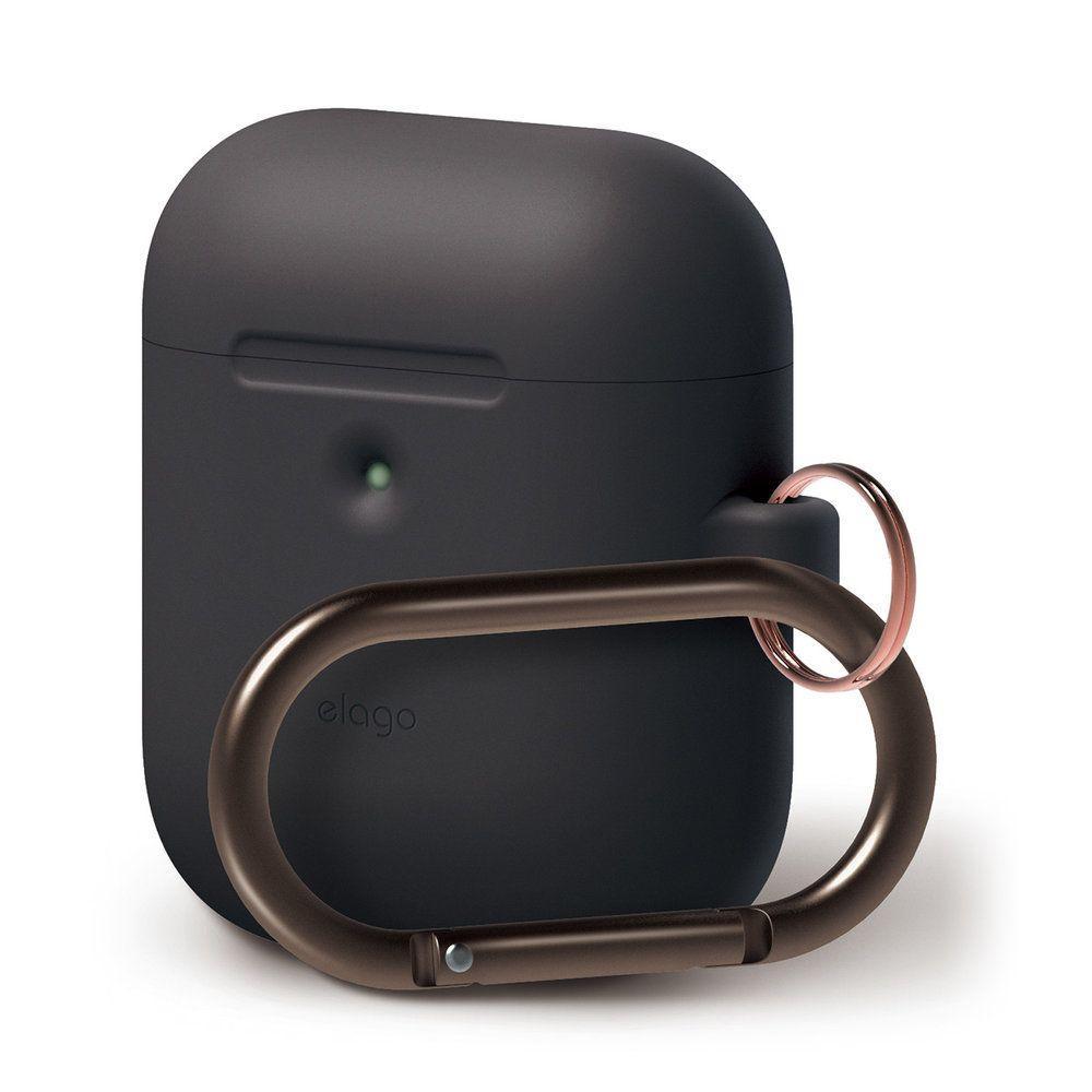 Чехол Elago A2 Hand silicone Airpods Wireless Charging Black (EAP2SC-HANG-BK) EAN/UPC: 8809461760315