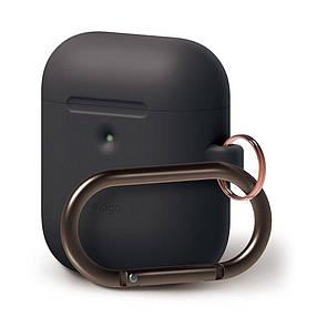 Чехол Elago A2 Hand silicone Airpods Wireless Charging Black (EAP2SC-HANG-BK) EAN/UPC: 8809461760315, фото 2