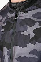 Куртка 147V001 цвет Грифельно-салатовый, фото 2
