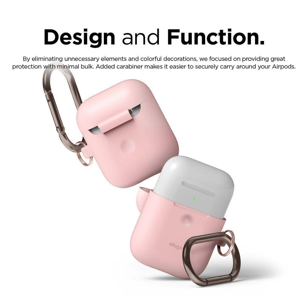 Чехол Elago A2 Hand silicone Airpods Wireless Charging Lovely Pink (EAP2SC-HANG-PK) EAN/UPC: 8809461760308
