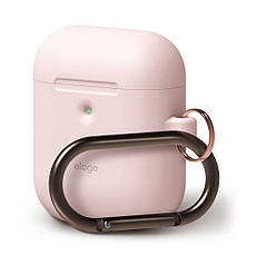 Чехол Elago A2 Hand silicone Airpods Wireless Charging Lovely Pink (EAP2SC-HANG-PK) EAN/UPC: 8809461760308, фото 3